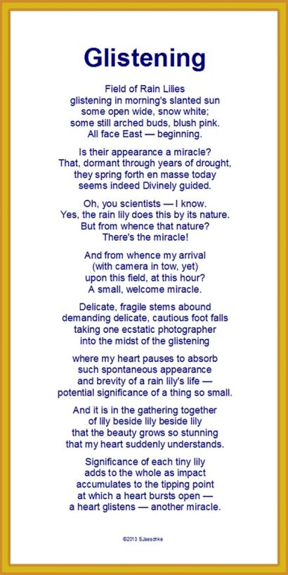 Poem_Glistening